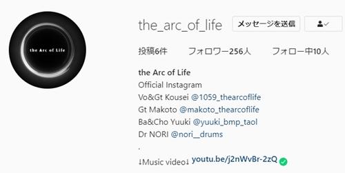 the Arc of Lifeのメンバーまとめ!結成日やデビュー曲まで徹底調査!